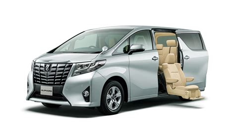 Toyota Alphard by Toyota Unveils New Alphard And Vellfire Minivans In Japan