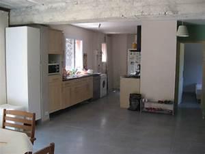 help couleurs murs de salon salle a manger carrelage gris With couleur de peinture pour couloir 13 decoration murale en bois use