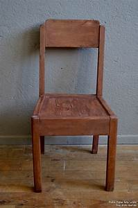 Chaise Enfant Vintage : chaise enfant claire l 39 atelier belle lurette r novation de meubles vintage ~ Teatrodelosmanantiales.com Idées de Décoration