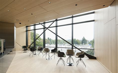 salle de conference behnisch architekten wipo ompi salle de conference