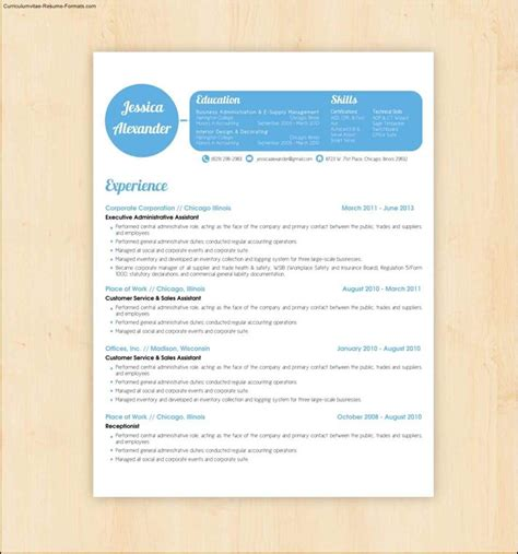 resume design templates  samples examples