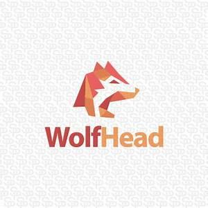 Wolf Head | Logo Design Gallery Inspiration | LogoMix