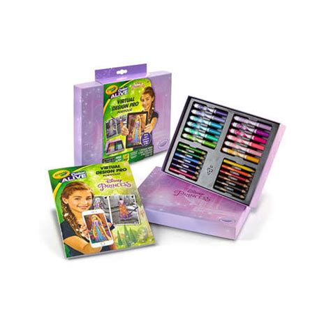 Crayola Coloring Kit by Crayola Design Pro Portfolio Disney Princess