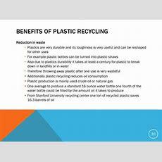 plastic benefits and disadvantages