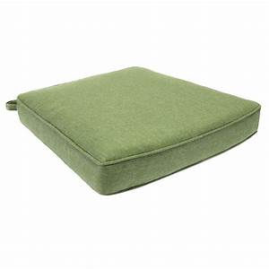 hampton bay clairborne solid green replacement outdoor With home depot outdoor furniture replacement cushions