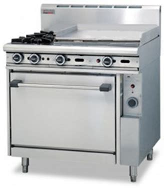 trueheat  open burner mm griddle plate gas oven perth wa practic