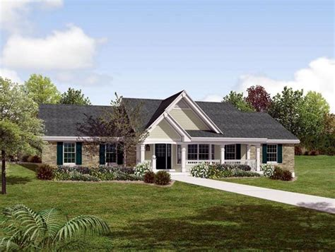 country ranch house plans country ranch southern traditional house plan 87872