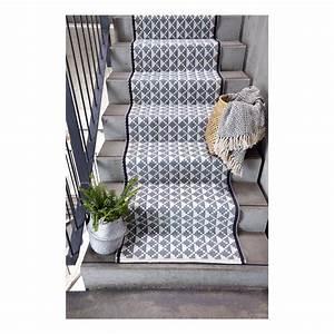 Tapis En Coton : tapis en coton porto gris liv interior d coration ~ Nature-et-papiers.com Idées de Décoration