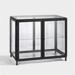 Vitrinenschrank Glas Metall : die besten 25 schwarz lackierte kommoden ideen auf pinterest sideboard modern 50er jahre ~ Frokenaadalensverden.com Haus und Dekorationen