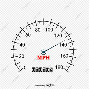 Vector White Simple Classic Speedometer  Vector Diagram  Speedometer  White Png And Vector With