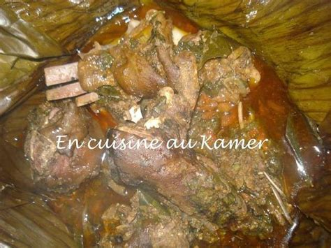 recette de cuisine camerounaise recettes de chèvre de en cuisine au kamer