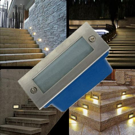 recessed led outdoor step lights outdoor led stair light 3w led wall l night light led