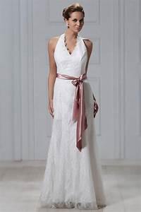 Robe De Mariée Moderne : robe de mari e dentelle moderne empire col am ricain au ~ Melissatoandfro.com Idées de Décoration