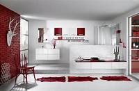 red bathroom ideas 39 Cool And Bold Red Bathroom Design Ideas | DigsDigs
