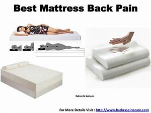 best mattress back pain With best way to lay for back pain