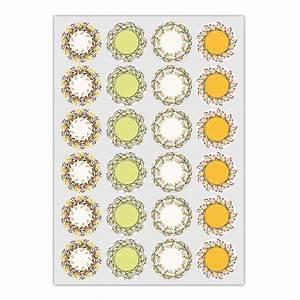 Aufkleber Zum Beschriften : 24 elegante aufkleber zum beschriften mit blumen kr nzen bunt matte papieraufkleber auch ~ Orissabook.com Haus und Dekorationen