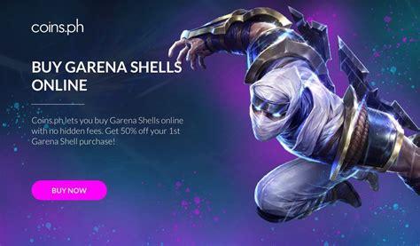 buy garena shells   hidden fees coinsph