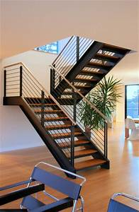 Steel Staircase - Modern - Staircase - Seattle