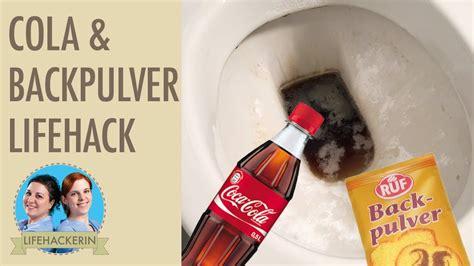 Der Backofen Streikt Tipps Und Tricks Zur Ersten Hilfe by Toilette Reinigen Mit Cola Und Backpulver Wc Putzen Mit