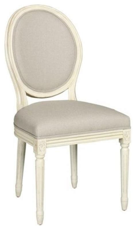 side chair antique white traditional dining