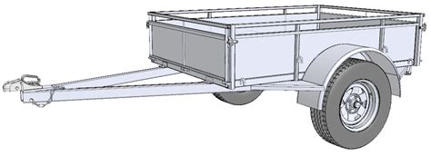 Trailer Panel Mount Led Light Template Dxf by Free Trailer Building Plans