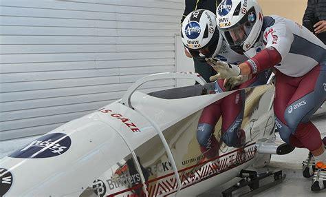 Olimpiskajā sezonā LTV7 tiešraidē rādīs visus PK izcīņas posmus bobslejā un skeletonā / Diena