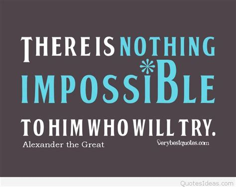 Is Quotes Nothing Is Impossible Quote Image