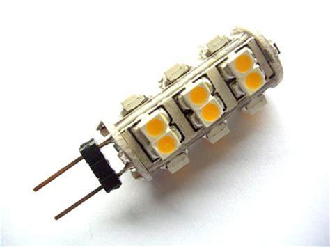 26 SMD G4 LED Warmweiß 12V   LED Leuchtmittel Lampe Spot G4