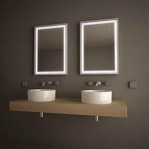 Led Badspiegel Günstig : spiegel led mit alurahmen frame 989705152 ~ Indierocktalk.com Haus und Dekorationen