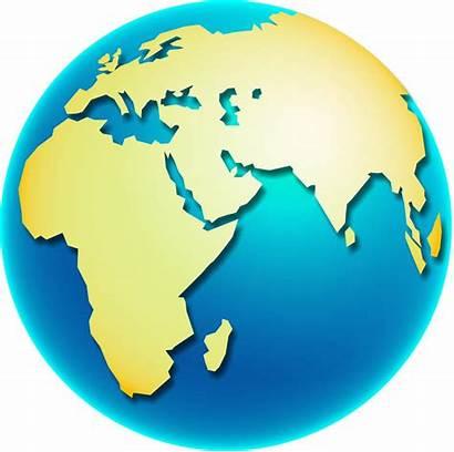 Globe Africa Clip Map Illustration Freeimageslive
