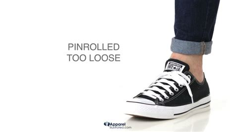 How to pinroll jeans with correct tightness 1 - Apparel Illustrated