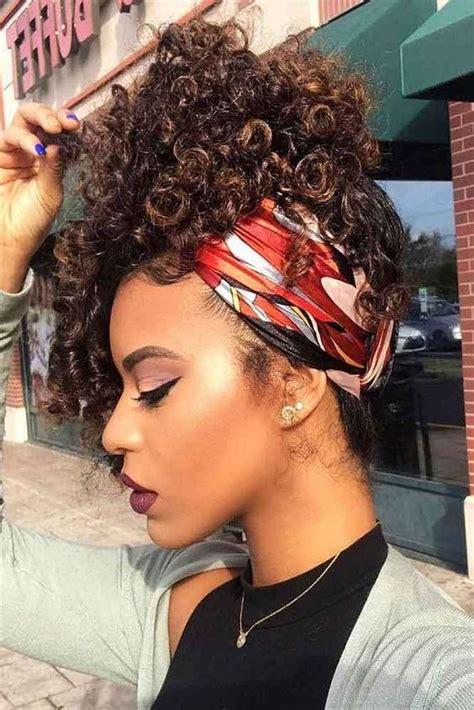 foulard cheveux afro frises crepus ou boucles