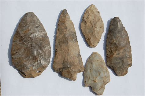 past connections ancient norfolk arrowheads made from