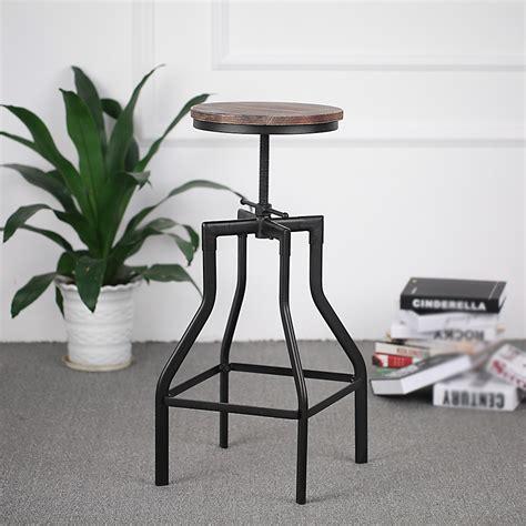 chaise de cuisine réglable en hauteur only 40 66 tabouret de bar pivotant réglable en hauteur ikayaa chaise à manger en cuisine