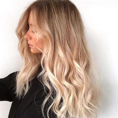 blonde hair colors  golden  caramel wella professionals