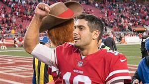 San Francisco 49ers QB Jimmy Garoppolo can send resounding ...