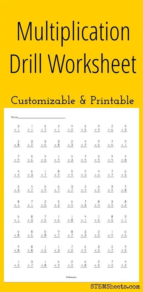 multiplication worksheet 100 problems picture worksheet