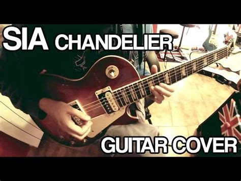chandelier sia cover sia chandelier guitar vocals cover piano version
