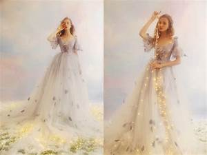 32 whimsical and ethereal wedding dresses for fairy tale for Ethereal wedding dress