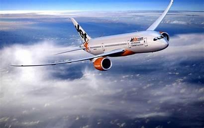Boeing 787 Wallpapers Plane Orange