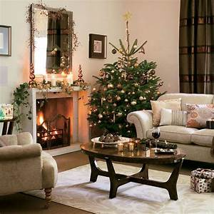 33 christmas decorations ideas bringing the christmas for Living rooms decorated for christmas