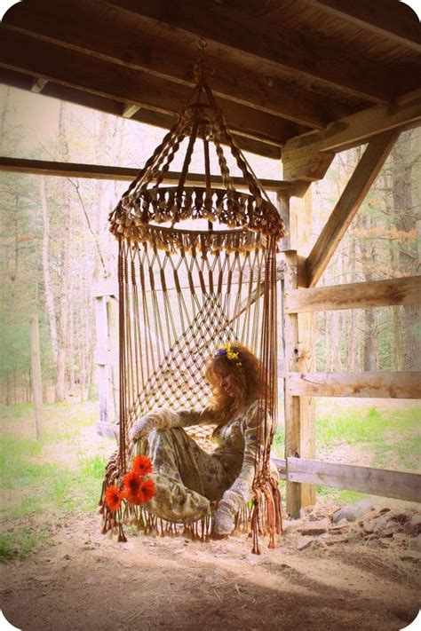 Hippie Hammock by The Of Macram 233 And How It Can Be Used Around The Home
