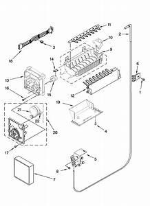 Kenmore Elite Ice Maker Diagram