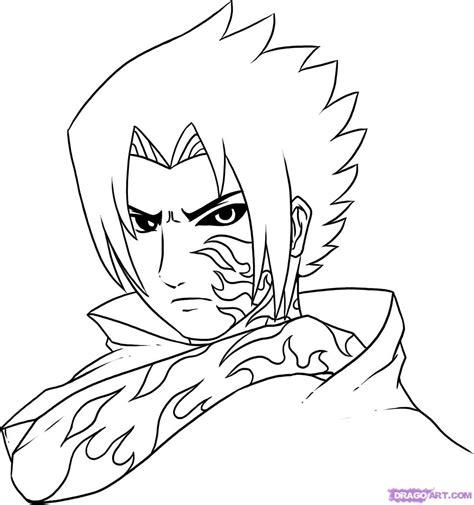 How To Draw Curse Mark Sasuke Step By Step Naruto