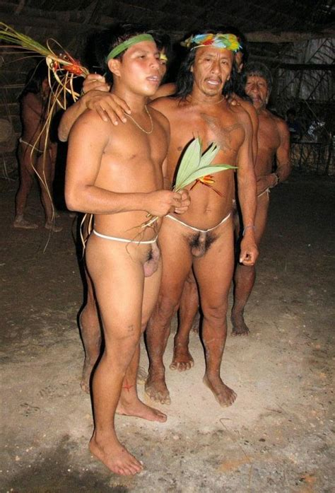 Naked Amazon Tribal Women