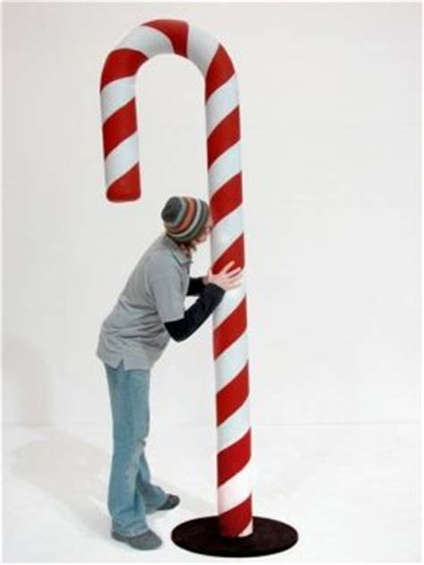 how to make large candy cane window ornaments prop code