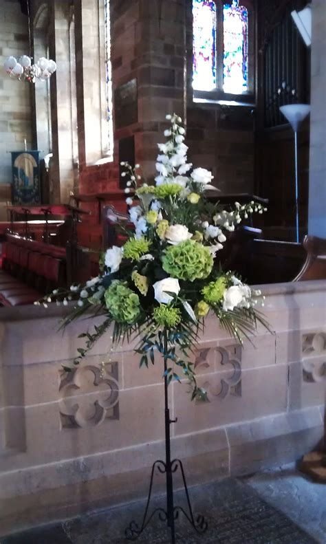 Church Wedding Decorations Standing Flower Arrangement