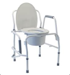 handicap portable toilet chair commodes provide handicap accessibility and privacy