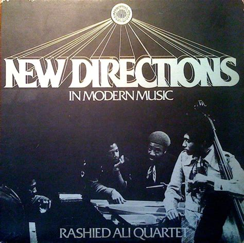 Rashied Ali New Directions In Modern Music Reviews