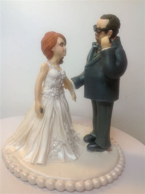 wedding cake topper  edible figurines